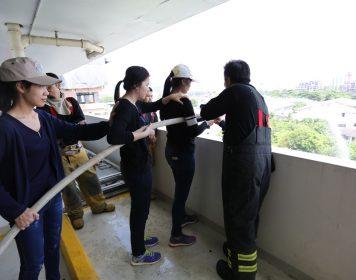 โครงการอพยพหนีไฟและการดับเพลิงระดับโรงพยาบาล